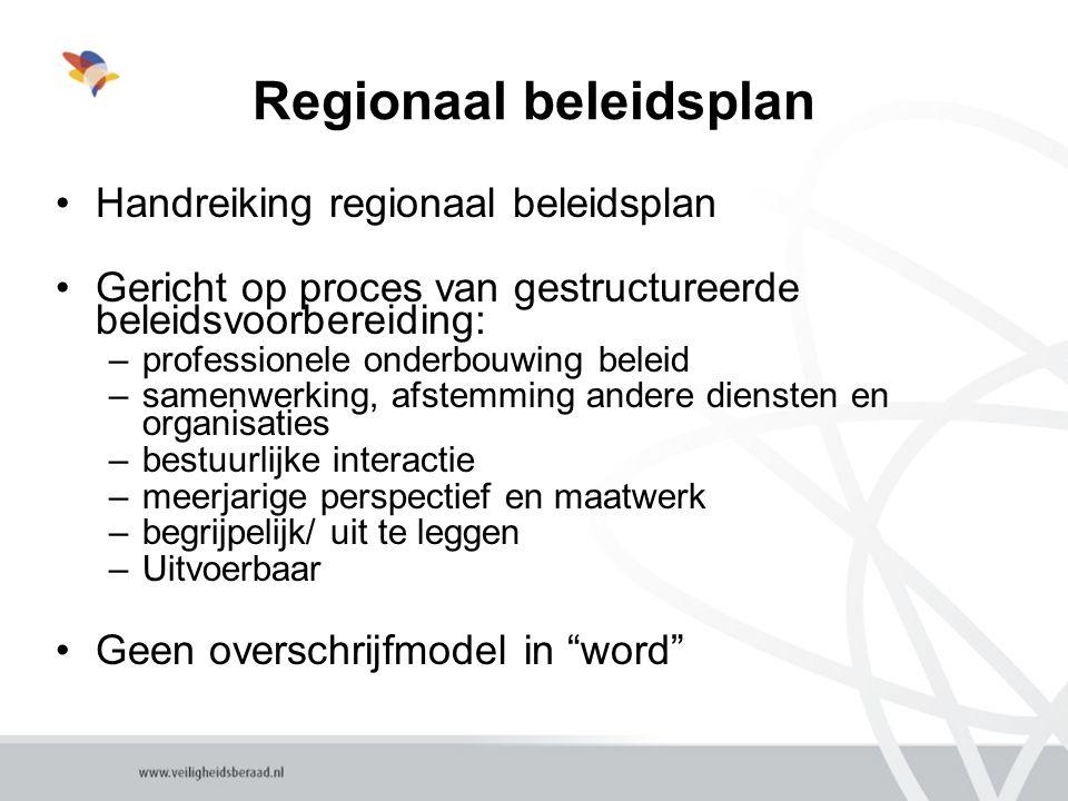 Regionaal beleidsplan