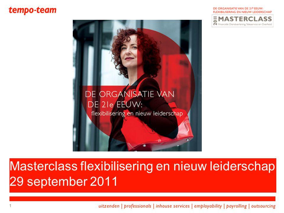 Masterclass flexibilisering en nieuw leiderschap 29 september 2011
