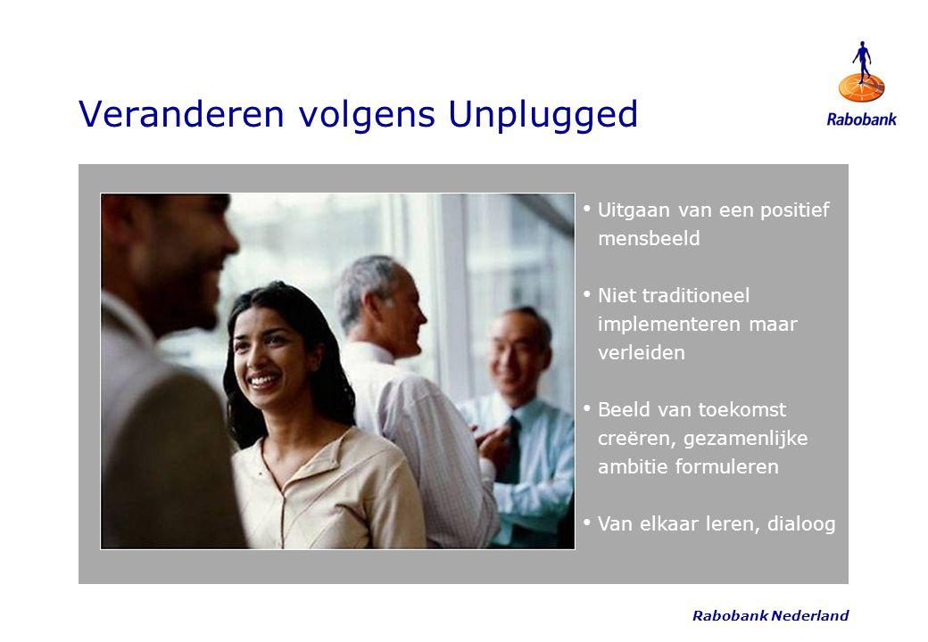 Veranderen volgens Unplugged