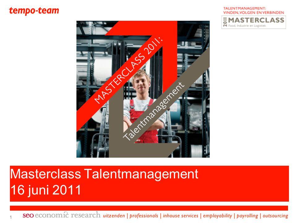 Masterclass Talentmanagement 16 juni 2011