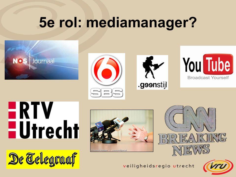 5e rol: mediamanager