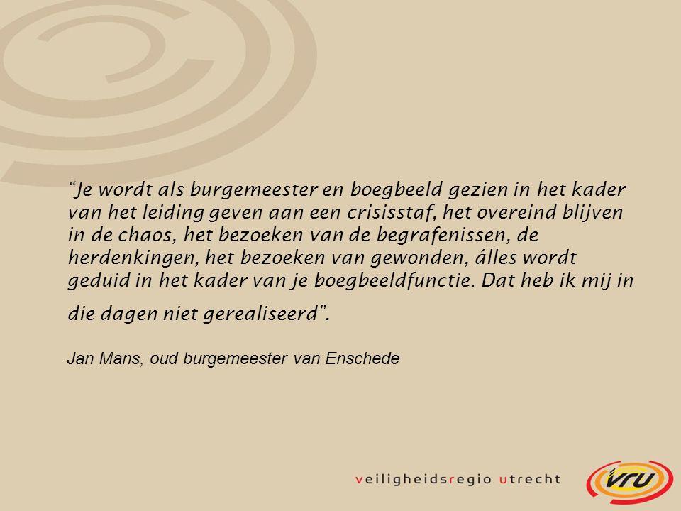 Jan Mans, oud burgemeester van Enschede