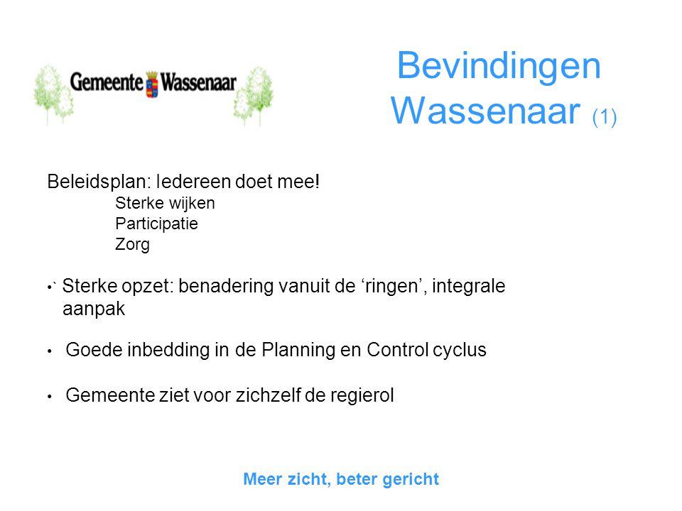 Bevindingen Wassenaar (1)