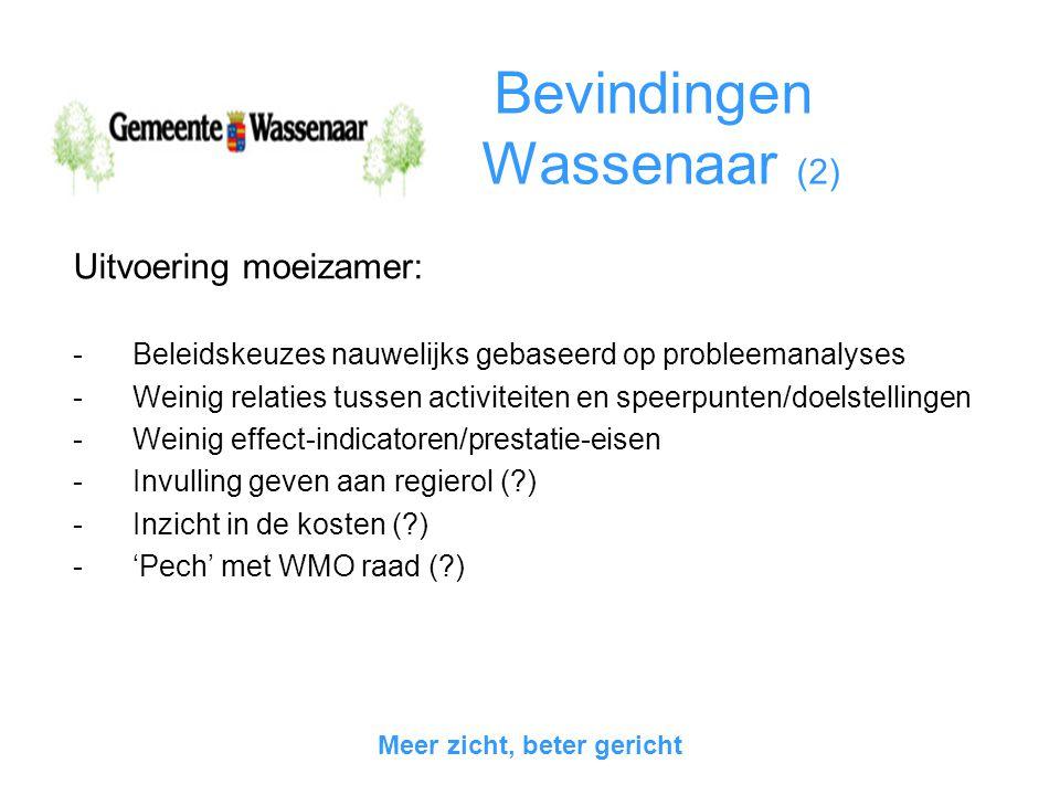 Bevindingen Wassenaar (2)