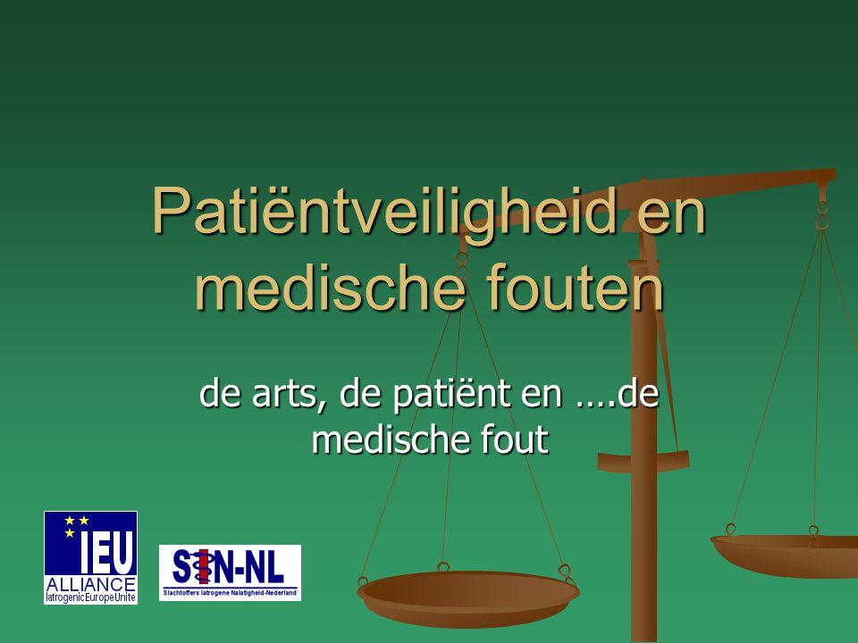 Patiëntveiligheid en medische fouten