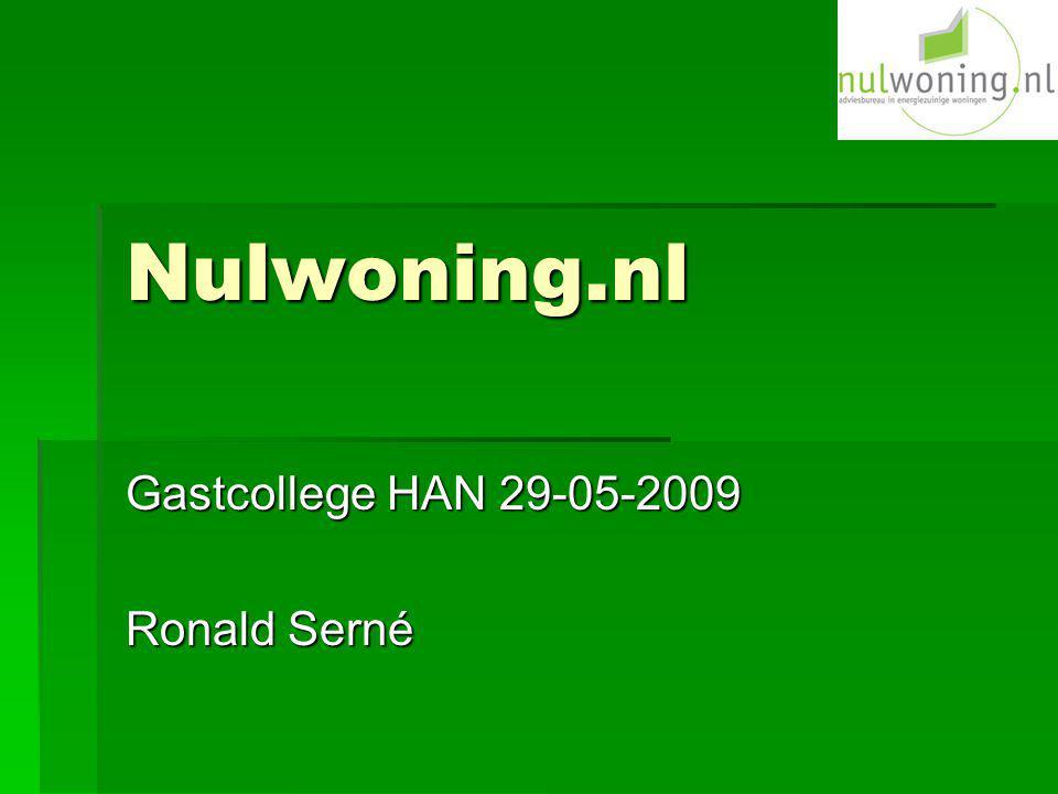 Gastcollege HAN 29-05-2009 Ronald Serné