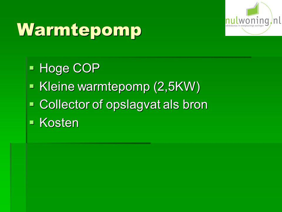 Warmtepomp Hoge COP Kleine warmtepomp (2,5KW)
