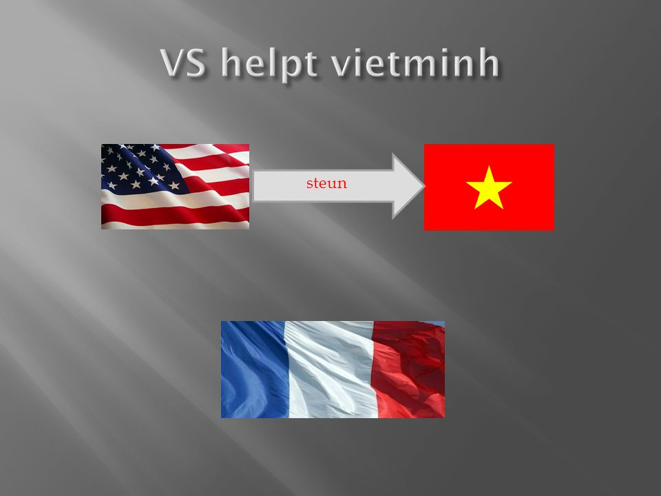 VS helpt vietminh steun