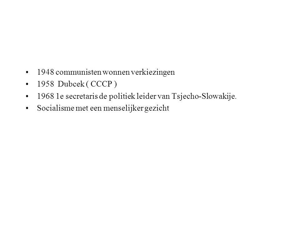 1948 communisten wonnen verkiezingen