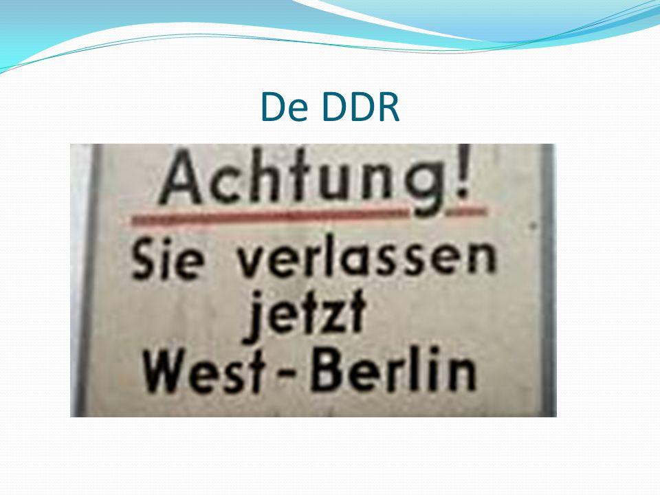 De DDR