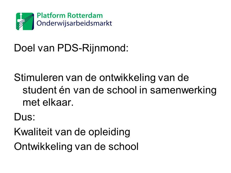Doel van PDS-Rijnmond: