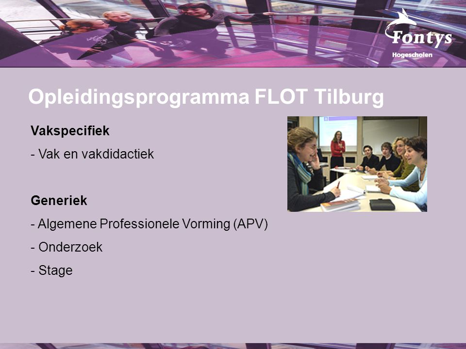 Opleidingsprogramma FLOT Tilburg