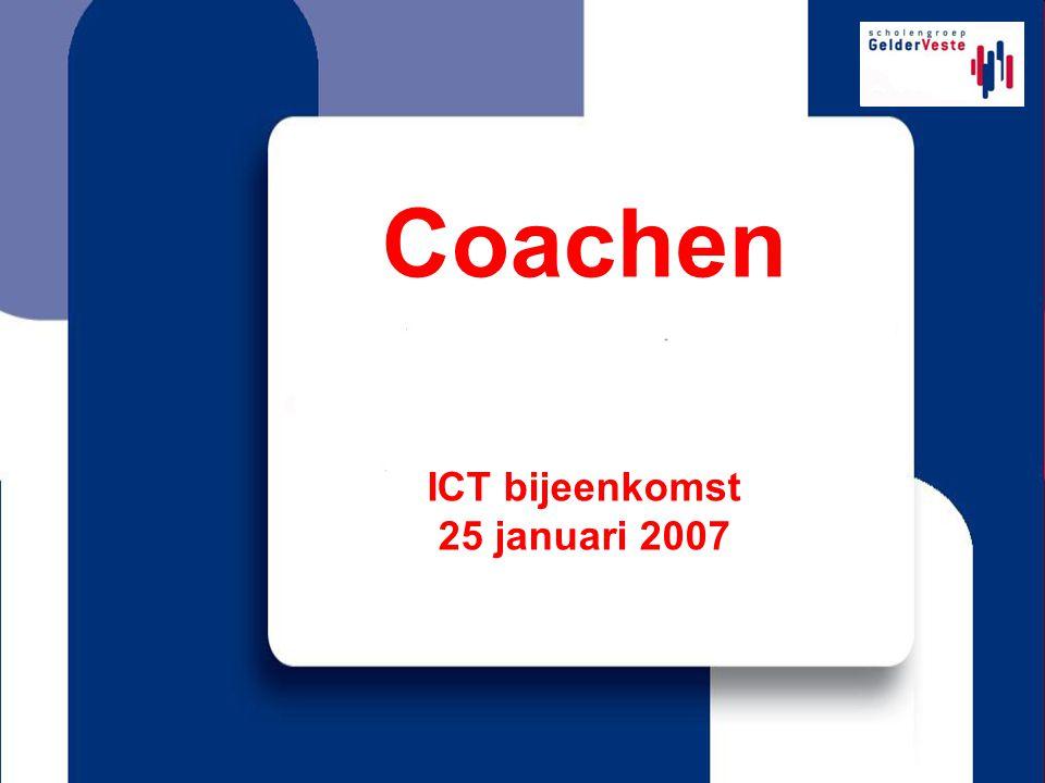 ICT bijeenkomst 25 januari 2007