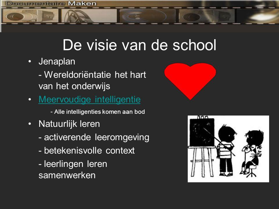 De visie van de school Jenaplan