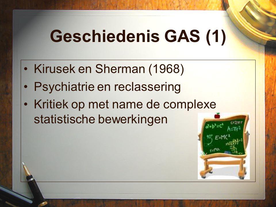 Geschiedenis GAS (1) Kirusek en Sherman (1968)
