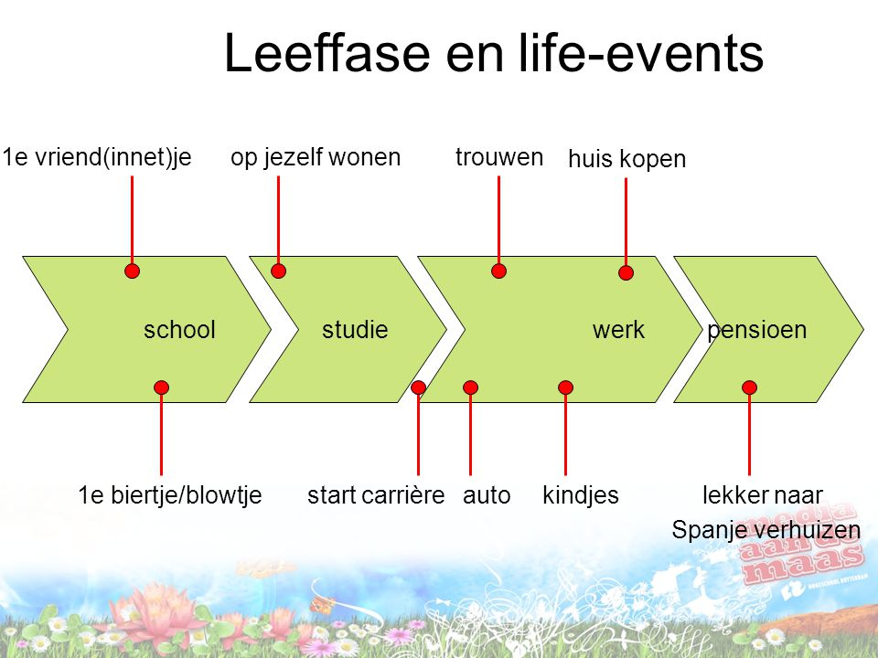 Leeffase en life-events