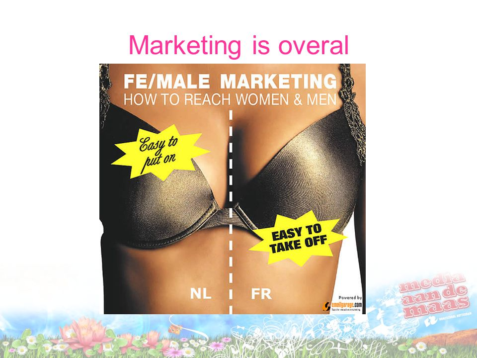 Marketing is overal