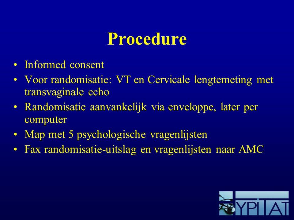 Procedure Informed consent