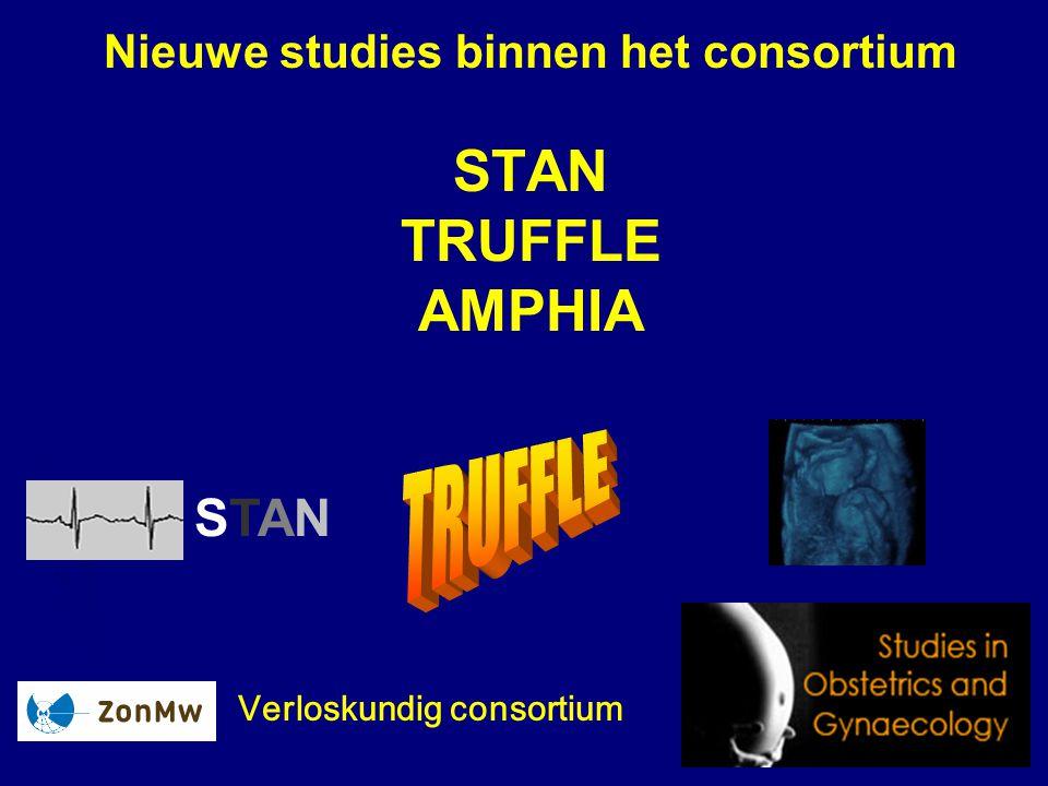 Nieuwe studies binnen het consortium STAN TRUFFLE AMPHIA