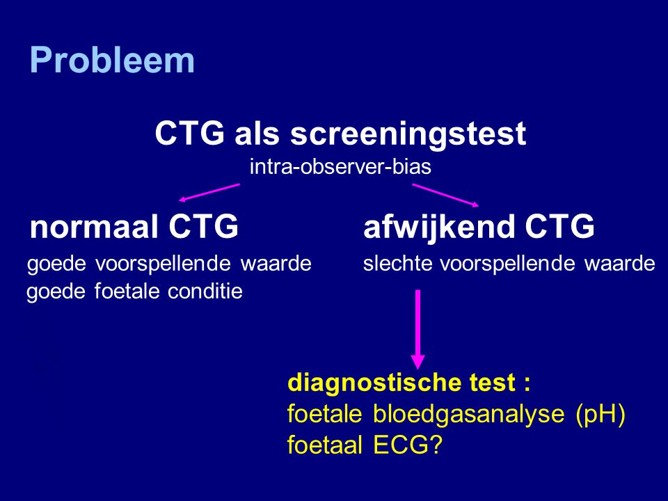 CTG als screeningstest