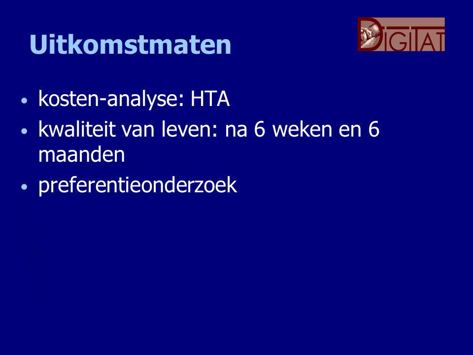 Uitkomstmaten kosten-analyse: HTA