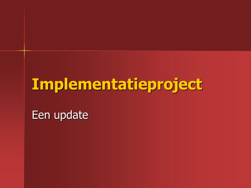 Implementatieproject