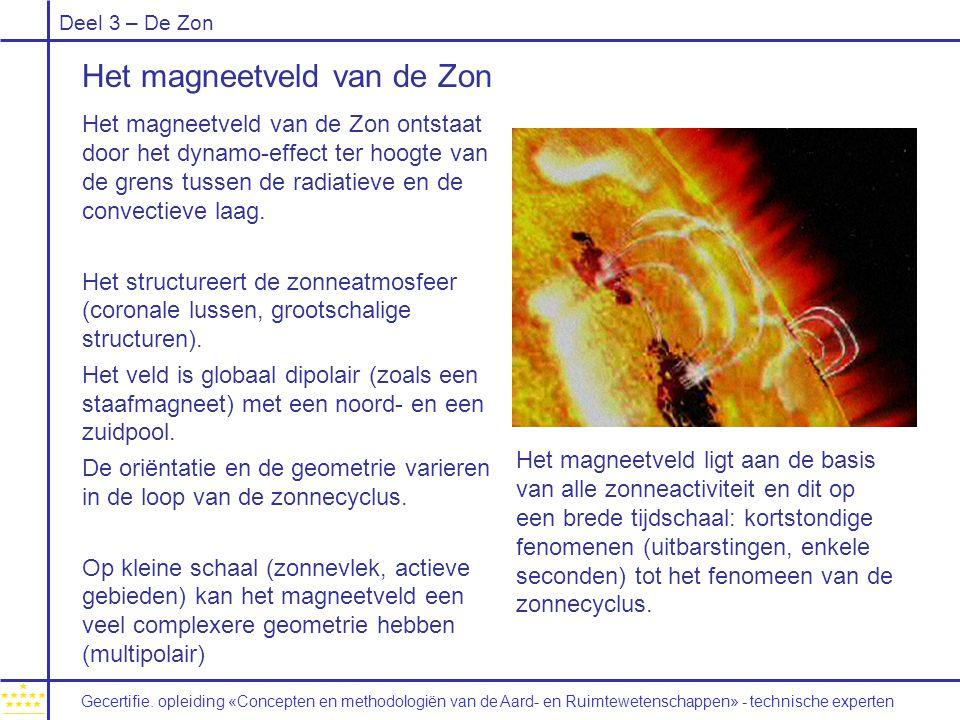 Het magneetveld van de Zon