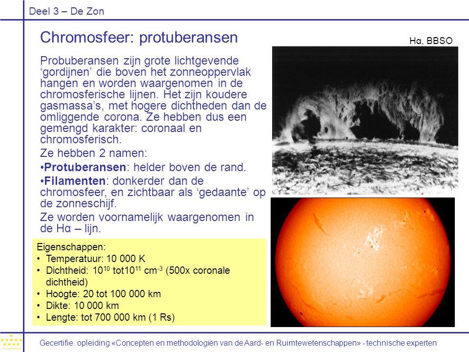 Chromosfeer: protuberansen