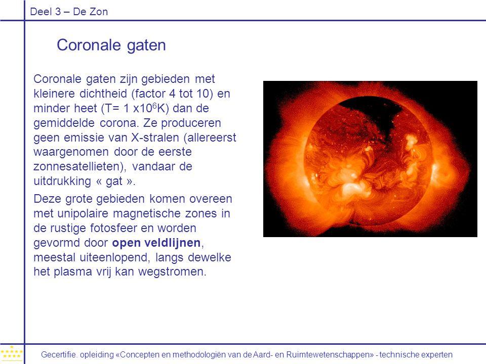 Coronale gaten