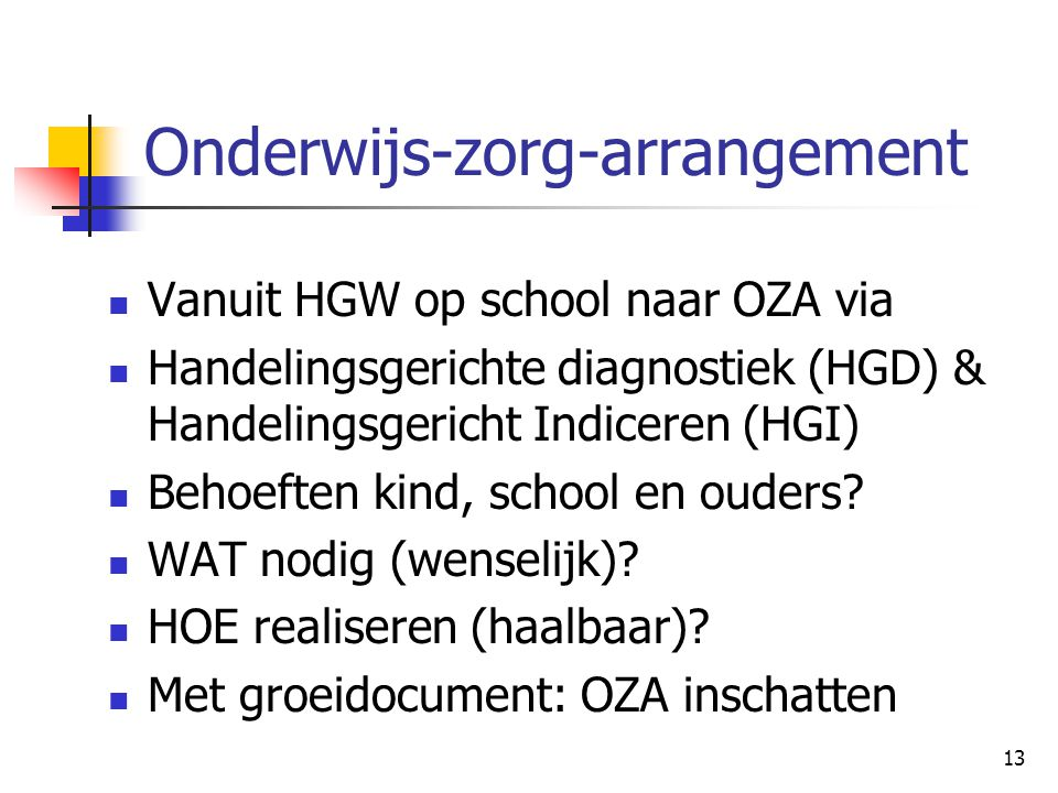 Onderwijs-zorg-arrangement