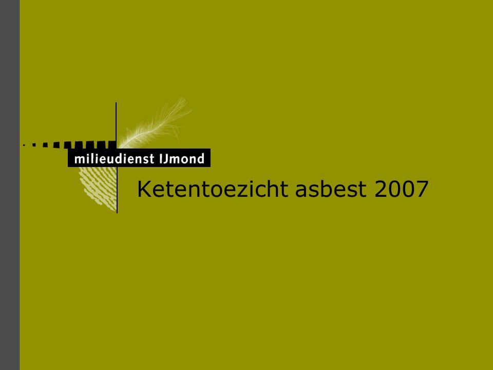 Ketentoezicht asbest 2007