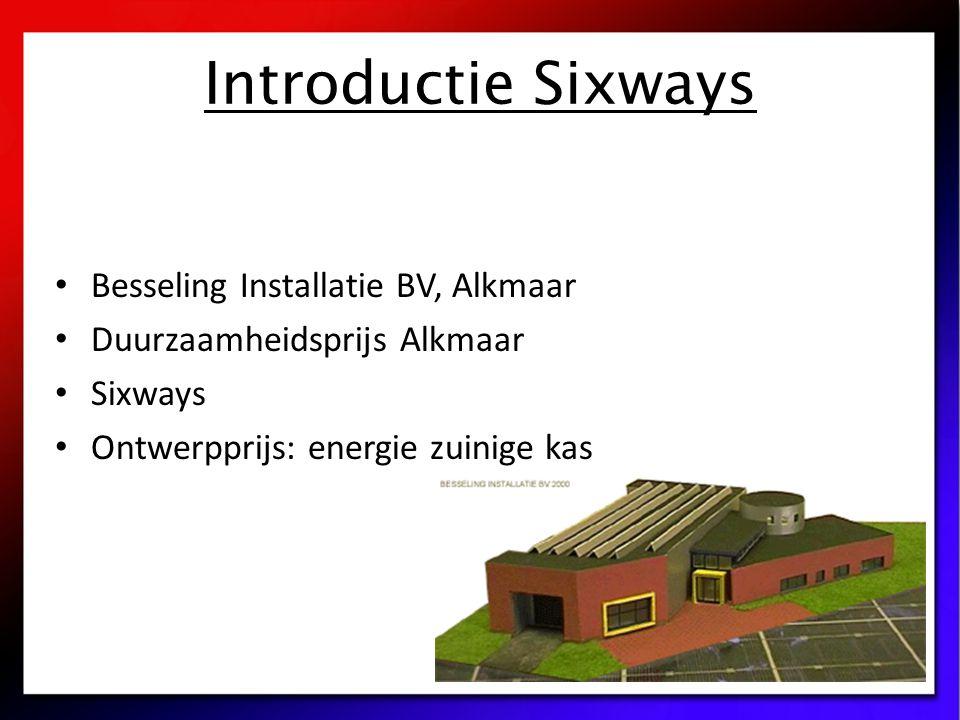 Introductie Sixways Besseling Installatie BV, Alkmaar