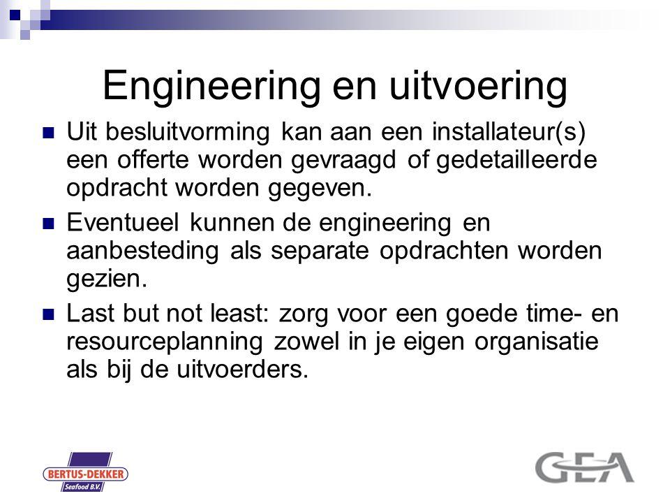 Engineering en uitvoering