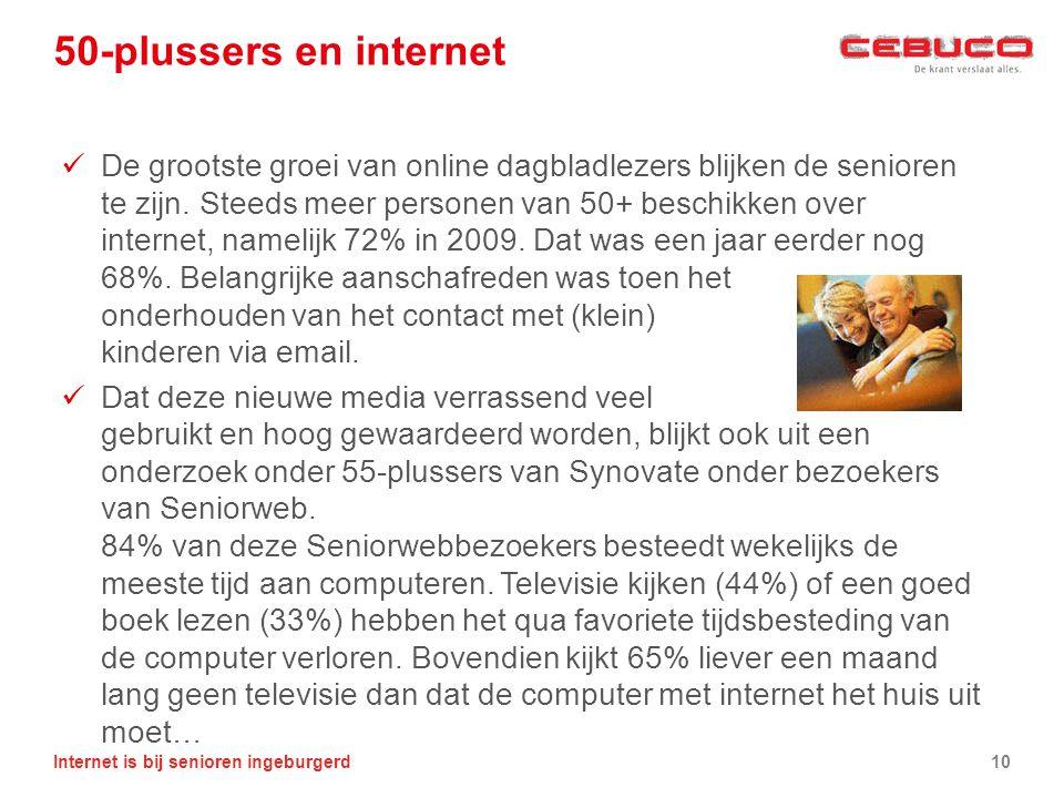 50-plussers en internet