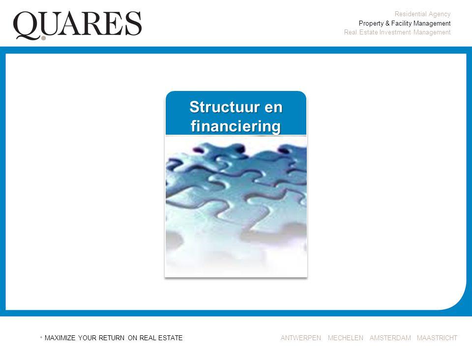 Structuur en financiering