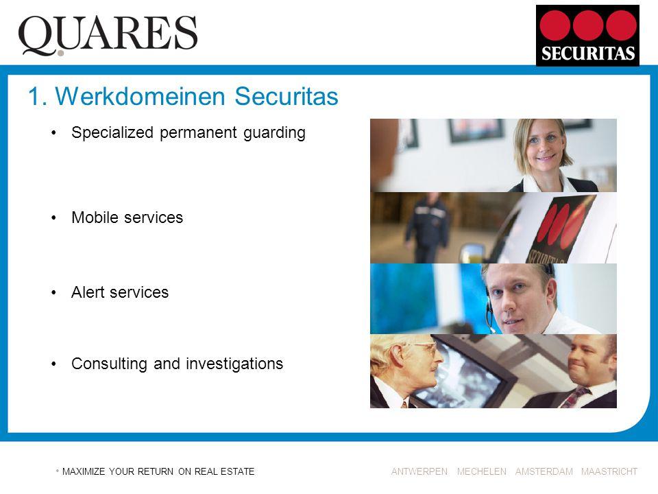 1. Werkdomeinen Securitas