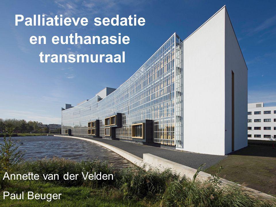 Palliatieve sedatie en euthanasie transmuraal