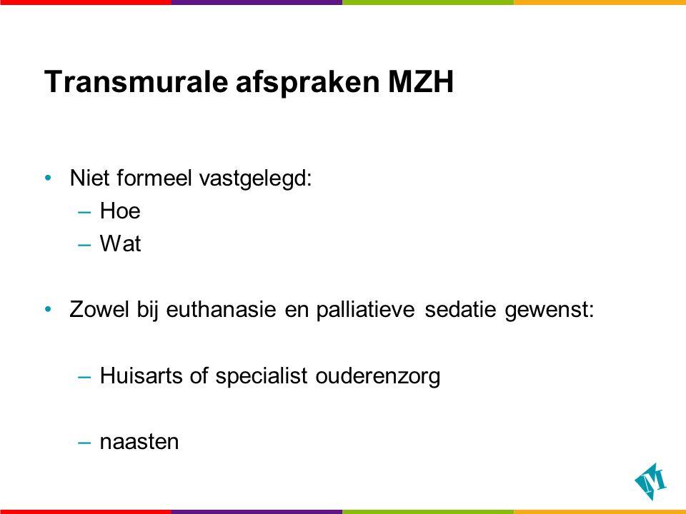 Transmurale afspraken MZH