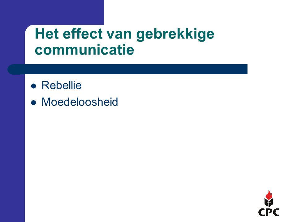 Het effect van gebrekkige communicatie