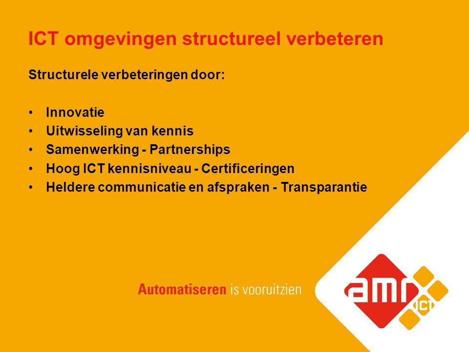 ICT omgevingen structureel verbeteren