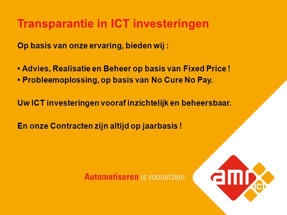Transparantie in ICT investeringen