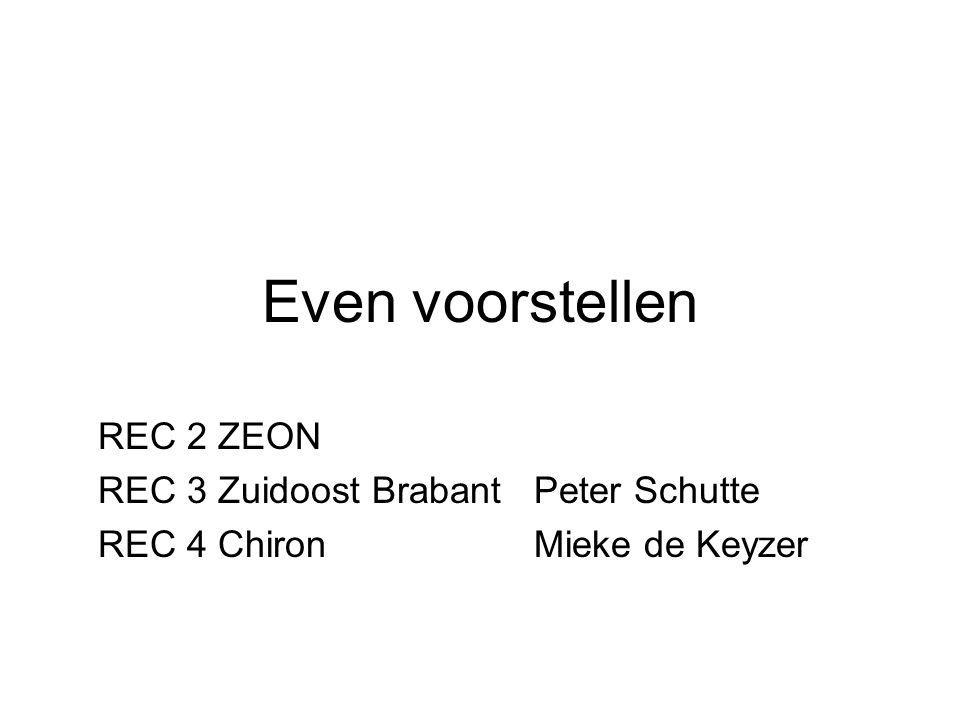 Even voorstellen REC 2 ZEON REC 3 Zuidoost Brabant Peter Schutte