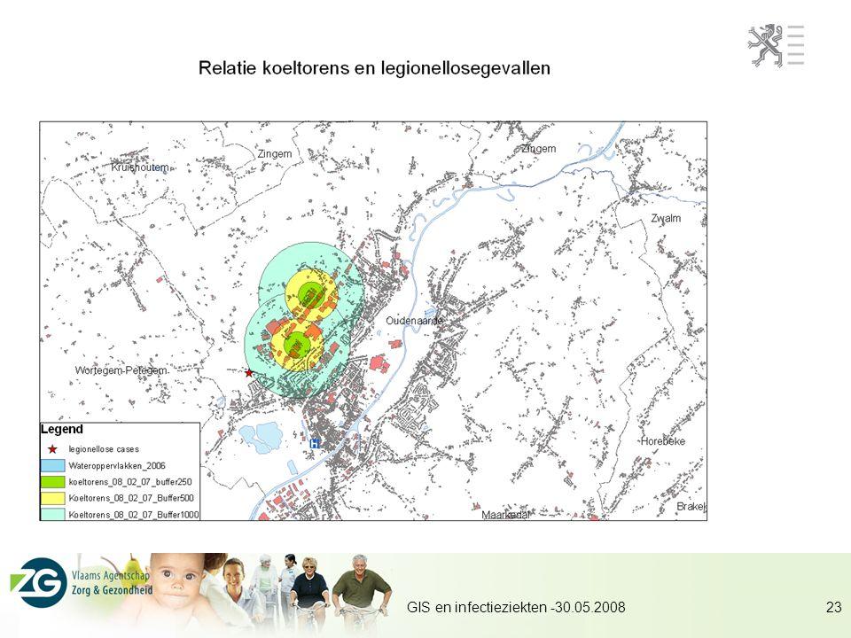 GIS en infectieziekten -30.05.2008