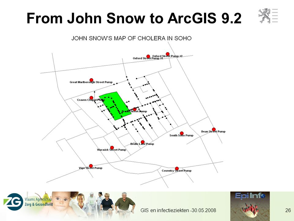 From John Snow to ArcGIS 9.2