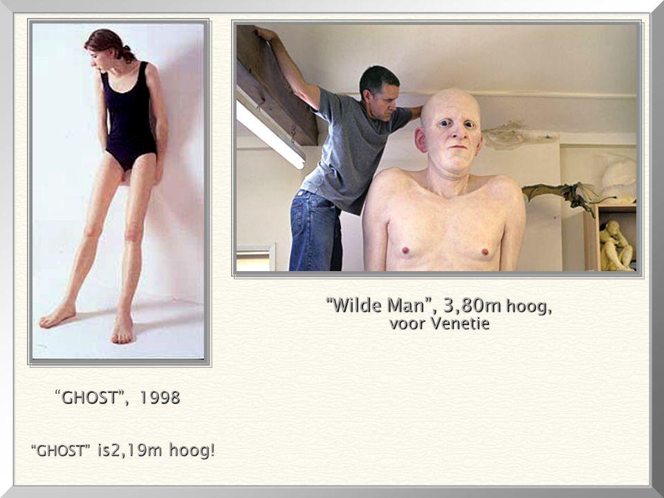 Wilde Man , 3,80m hoog, voor Venetie GHOST , 1998