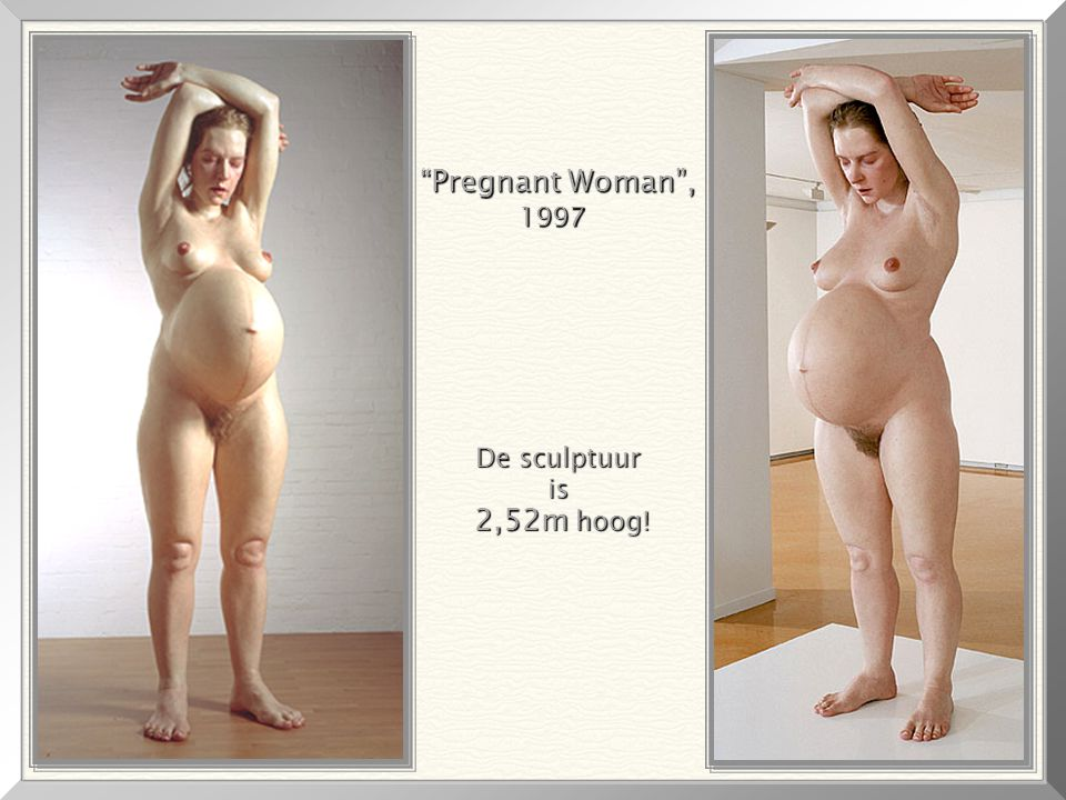 Pregnant Woman , 1997 De sculptuur is 2,52m hoog!