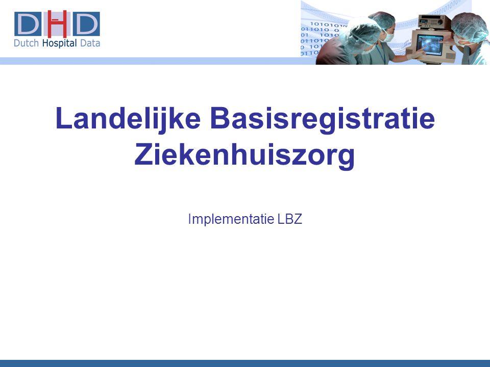 Landelijke Basisregistratie Ziekenhuiszorg