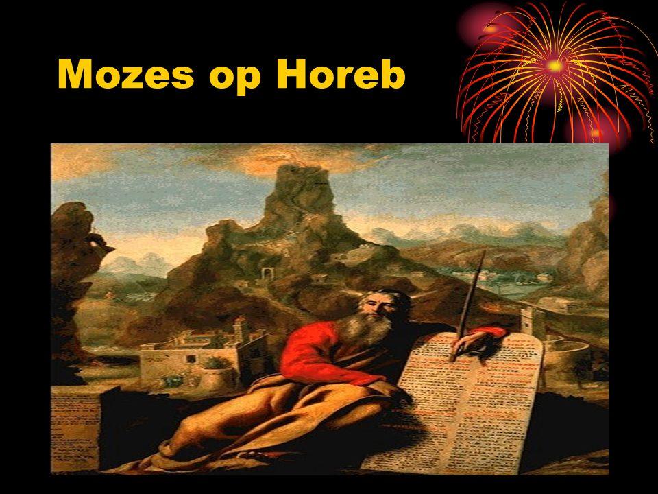 Mozes op Horeb