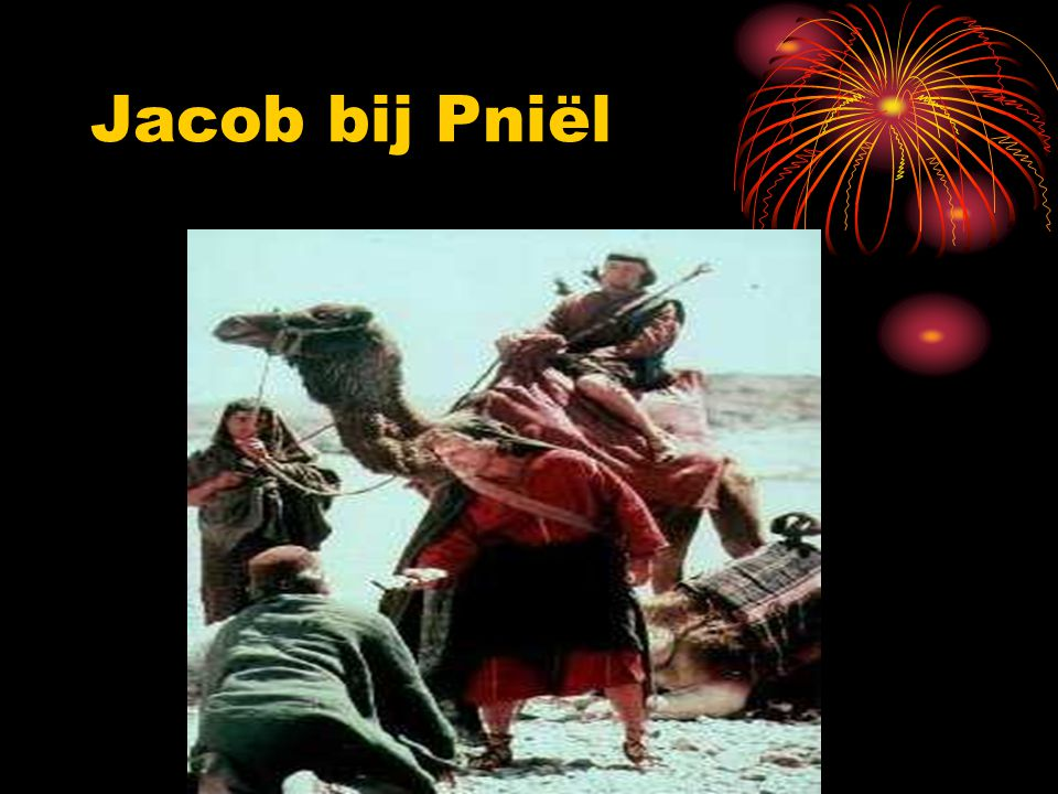 Jacob bij Pniël