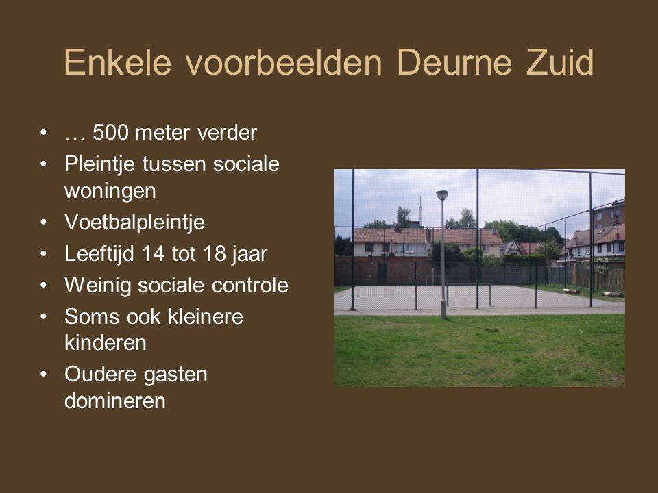 Enkele voorbeelden Deurne Zuid
